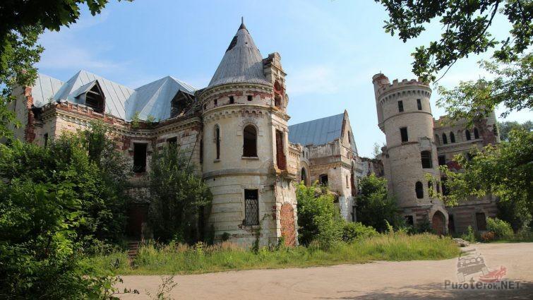 Остатки замка Храповицкого