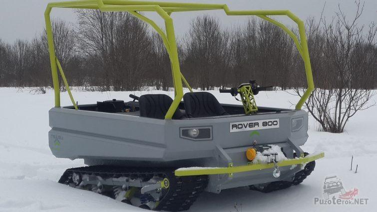 Пелец Ровер 800 с каркасом под тент