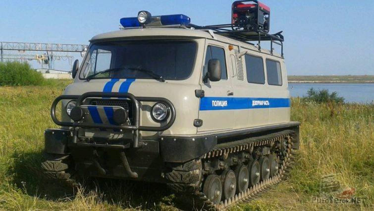 Полицейский вездеход Узола