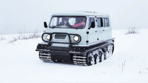 Снегоболотоход Узола на базе УАЗ Буханка