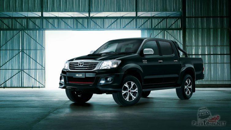 Toyota Hilux в стильном обвесе от TRD