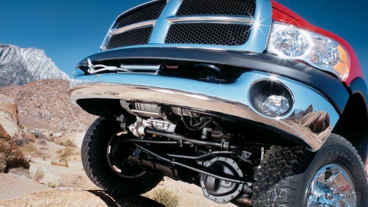 Усиленная подвеска на пикапе Dodge Ram