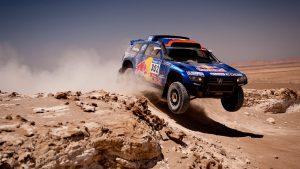 Гоночный Туарег в пустыне