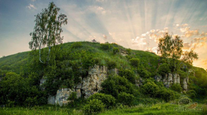 Каменная Гора на рассвете