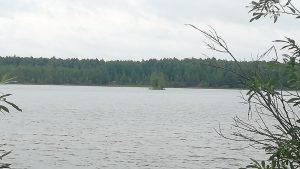 Островок посредине Ядерного озера