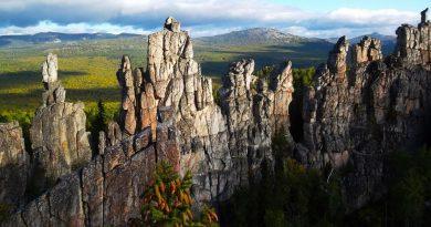Отстроверхие скалы Зубчаток