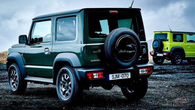 Suzuki Jimny четвёртого поколения