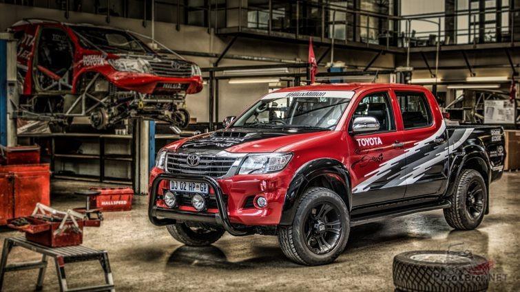 Тюнинг Toyota Hilux в мастерской