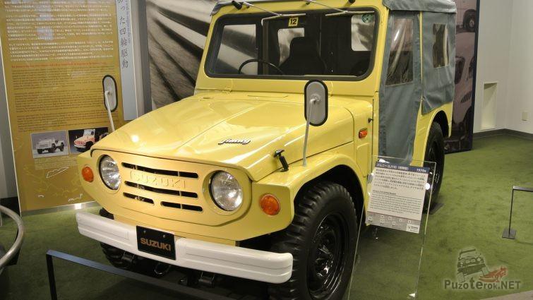 Жёлтый Suzuki Jimny первого поколения