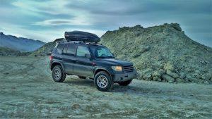 Экспедиционный Mitsubishi Pajero третьего поколения