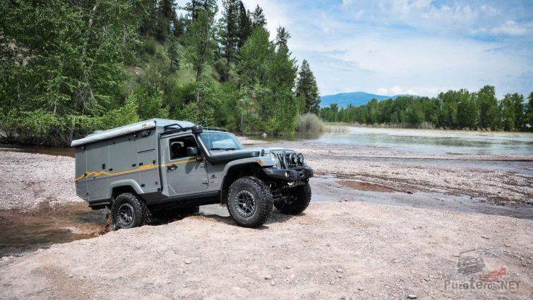 Кемпер Jeep Wrangler Outpost II в путешествии