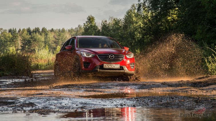 Mazda CX-5 на бездорожье