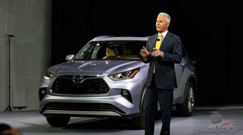 Презентация нового кроссовера Toyota Highlander