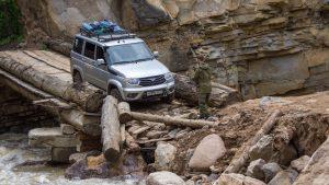 Путешествие на УАЗ Патриот в горах