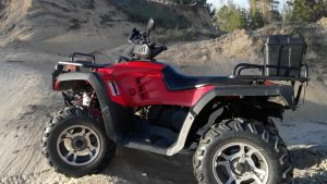 Stels ATV 300 на песчаных горах