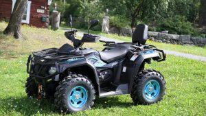 Stels ATV 600gt во дворе дома