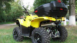 Stels ATV 800 с багажным кофром