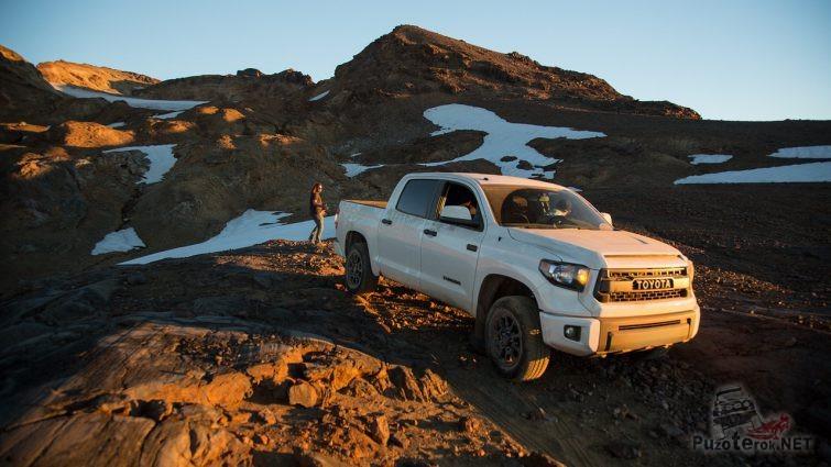 Усиленная подвеска на Toyota Tundra