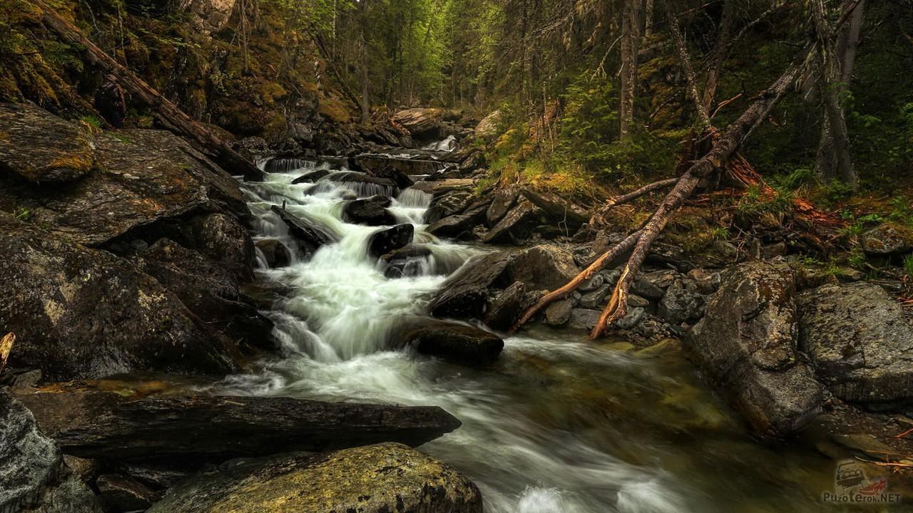 Жигаланский водопад (7 фото)