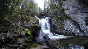 Жигаланский водопад в Пермском крае