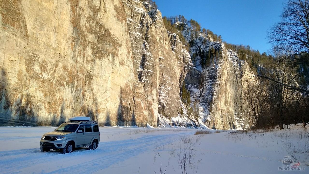 Зимняя экспедиция на УАЗ Патриот к Мамбету