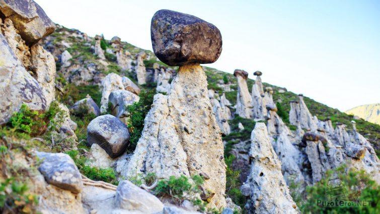 Алтайское чудо - каменный гриб