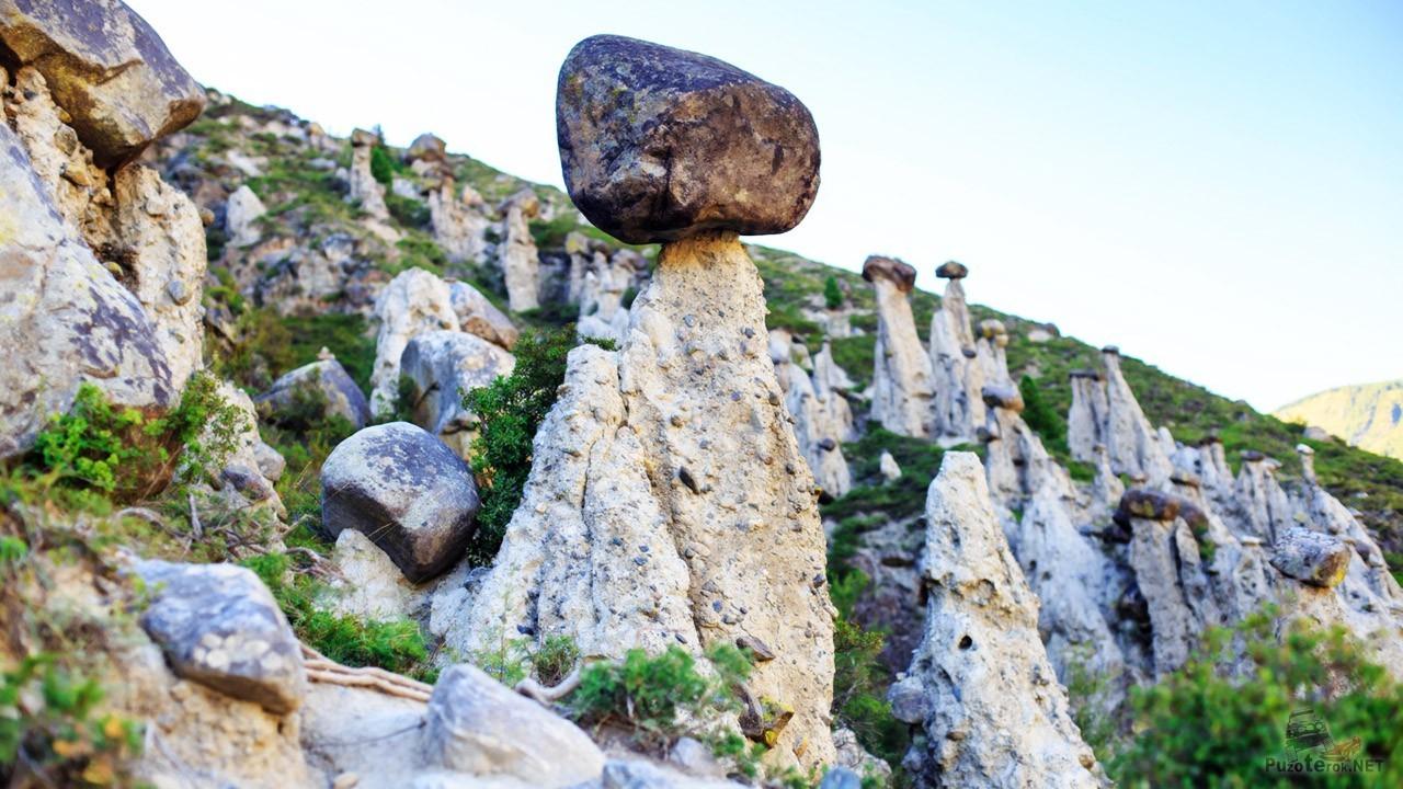 Алтайское чудо — каменный гриб