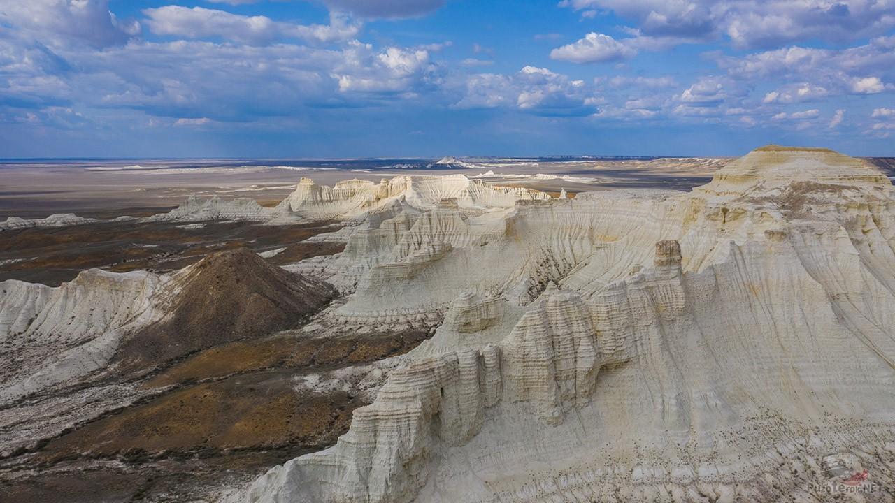 Белые меловые скалы