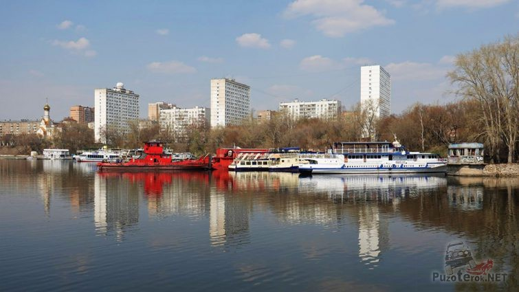 Берег Кожуховского Затона