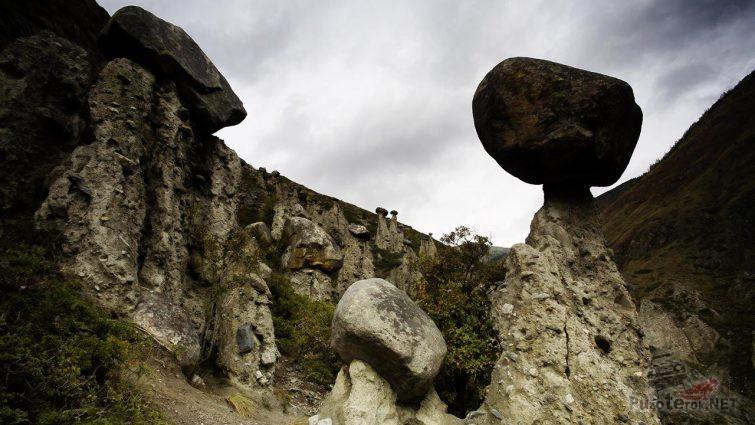 Гигантские каменные грибы