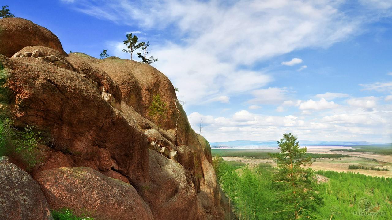Гора Каменка в Заиграевском районе