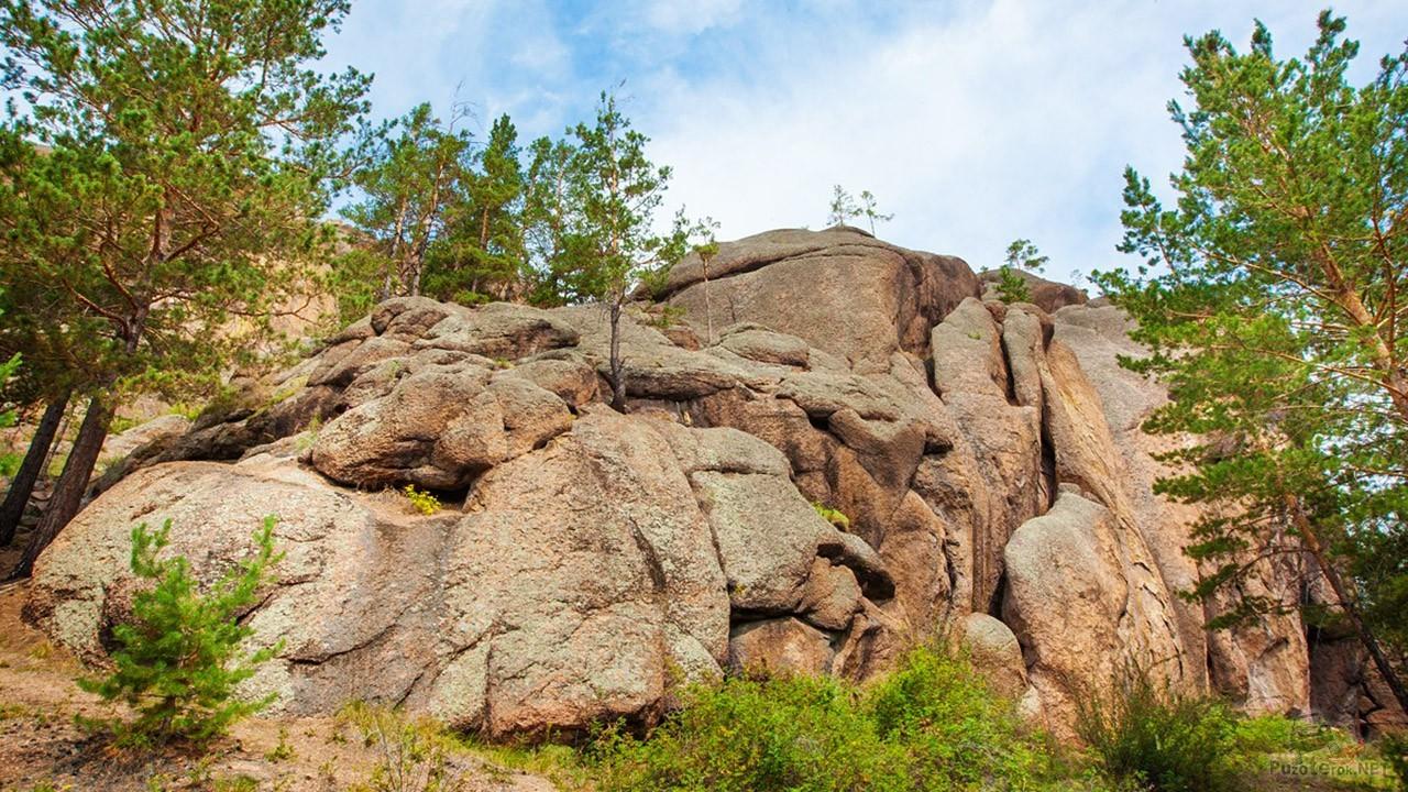 Гора Шаман в Заиграевском районе