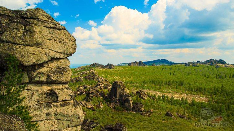 Харашибирские столбы Заиграевского района