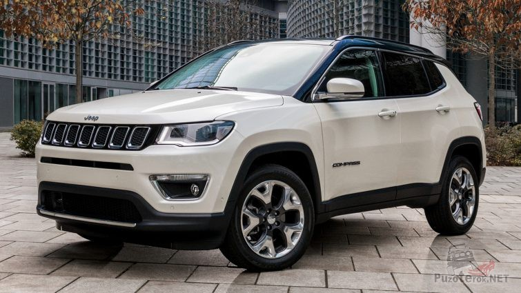 Jeep Compass Limited 2017 года