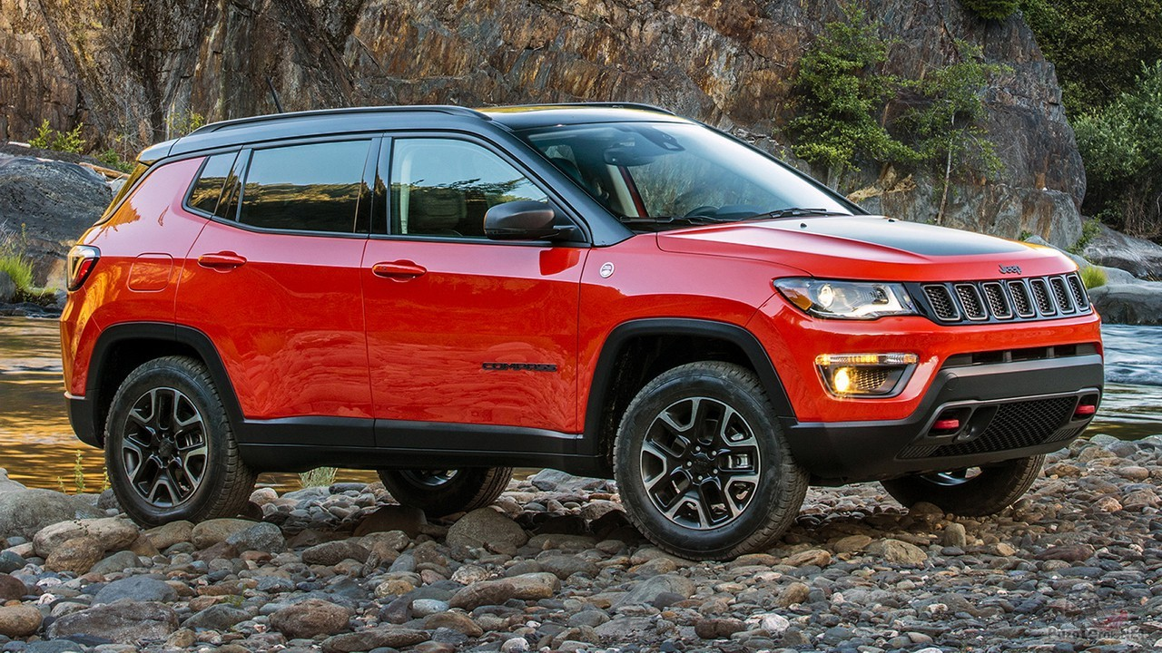 Jeep Compass Trailhawk 2017 года