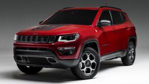 Jeep Compass Trailhawk гибрид