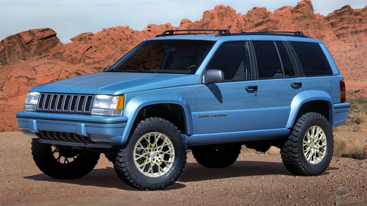 Jeep Grand Cherokee концепт