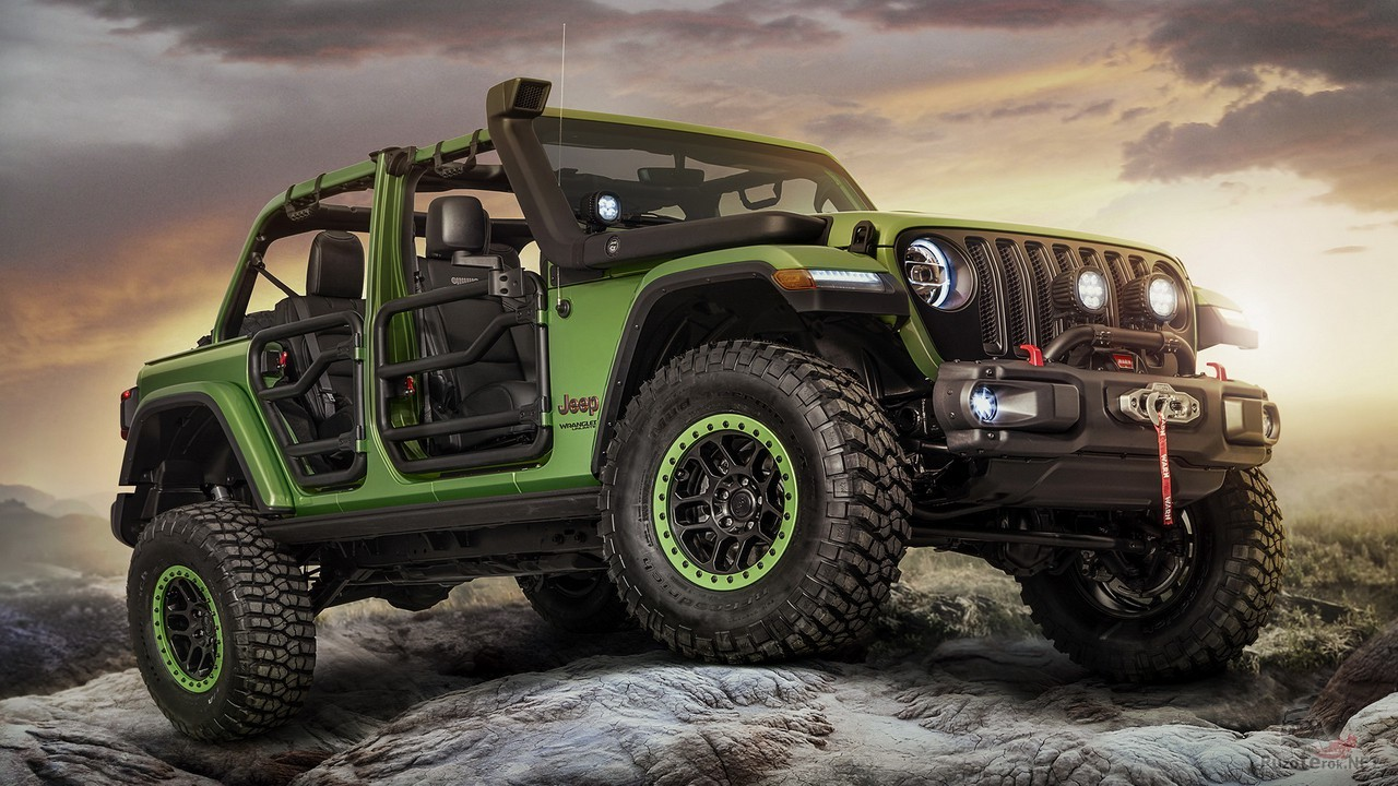 Jeep Wrangler Unlimited Rubicon Moparized