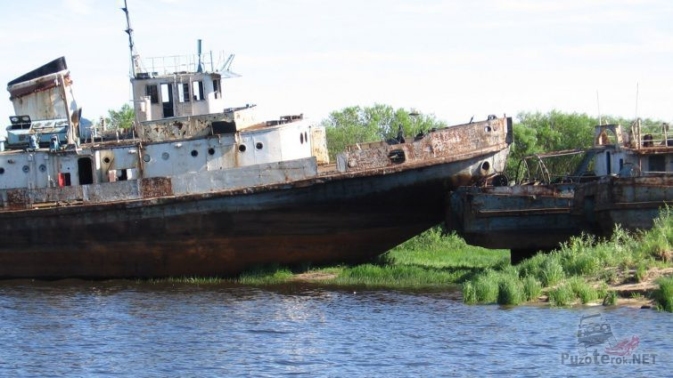 Кладбище затонувших кораблей