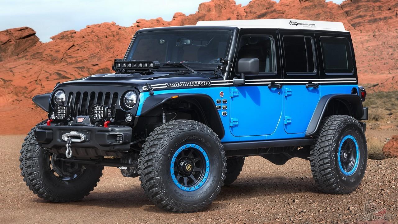 Концепт Jeep Luminator