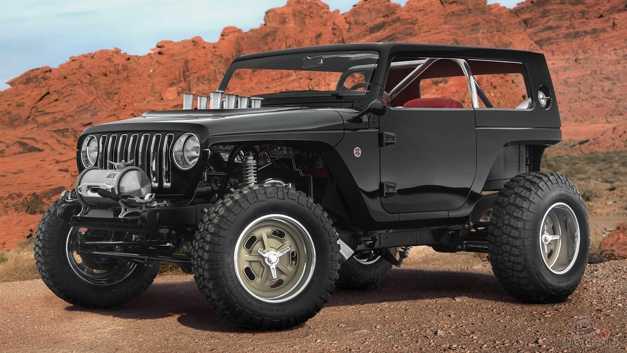 Концепт Jeep Quicksand