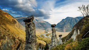 Космический Алтайский пейзаж
