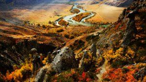 Красочная осень на Алтае