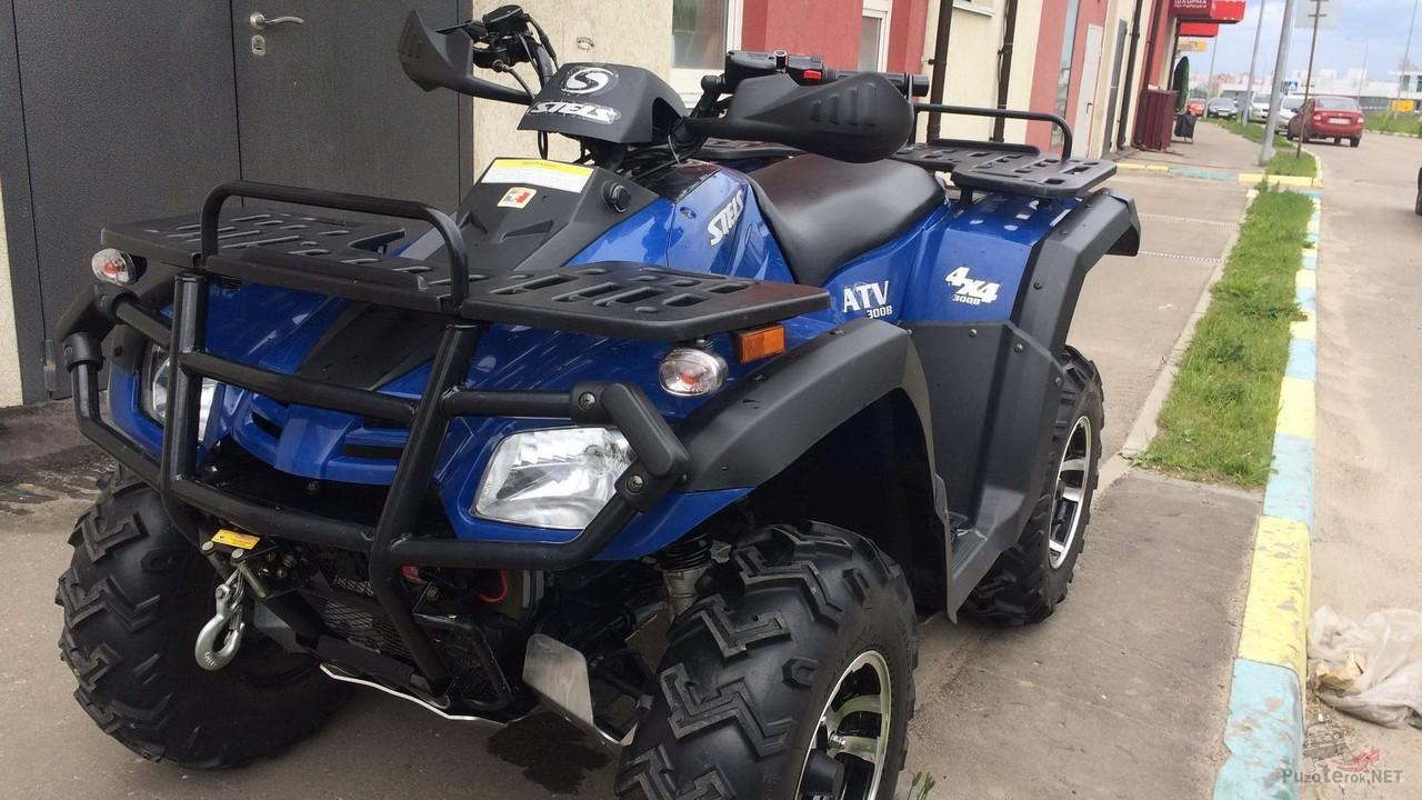 Квадроцикл Stels ATV 300 на улице