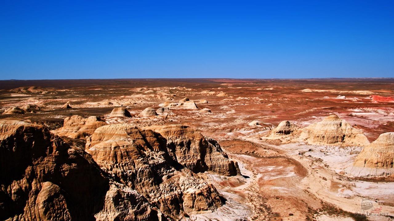 Марсианский пейзаж Города духов