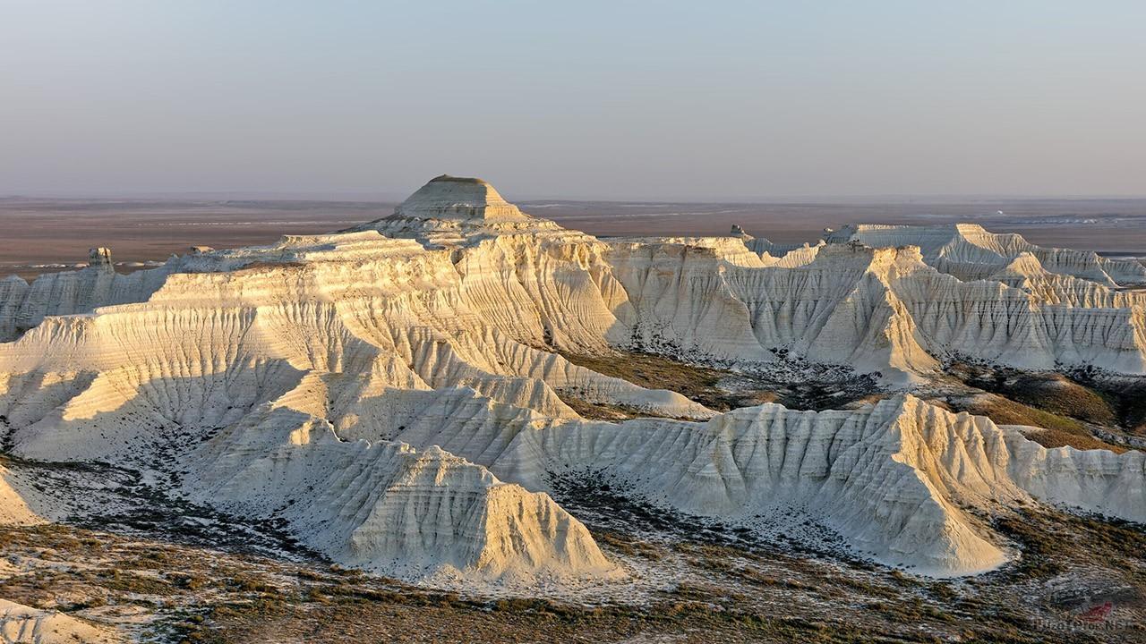 Меловые обнажения в Казахстане