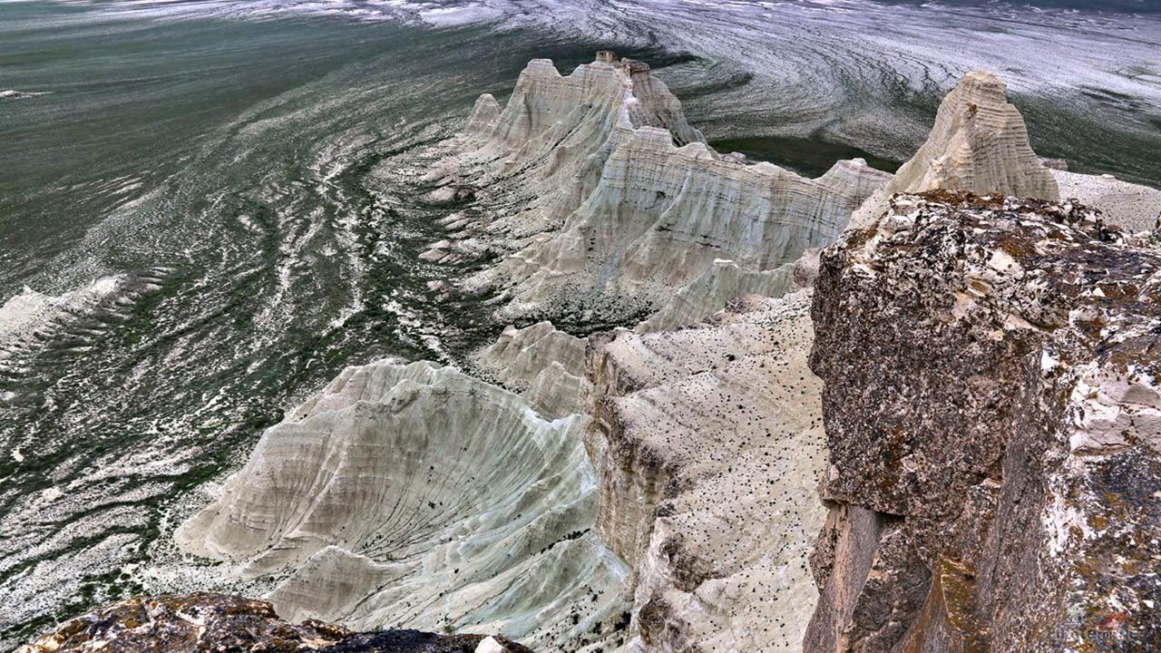 Наивысшая точка Актолагая гора Киякты