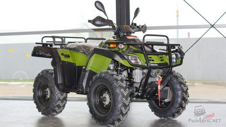 Новый Stels ATV 300 в помещении