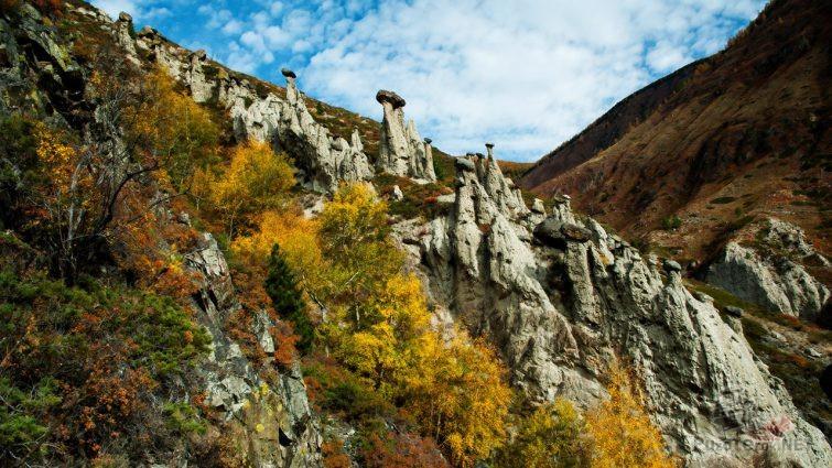 Осень в долине Чулышмана