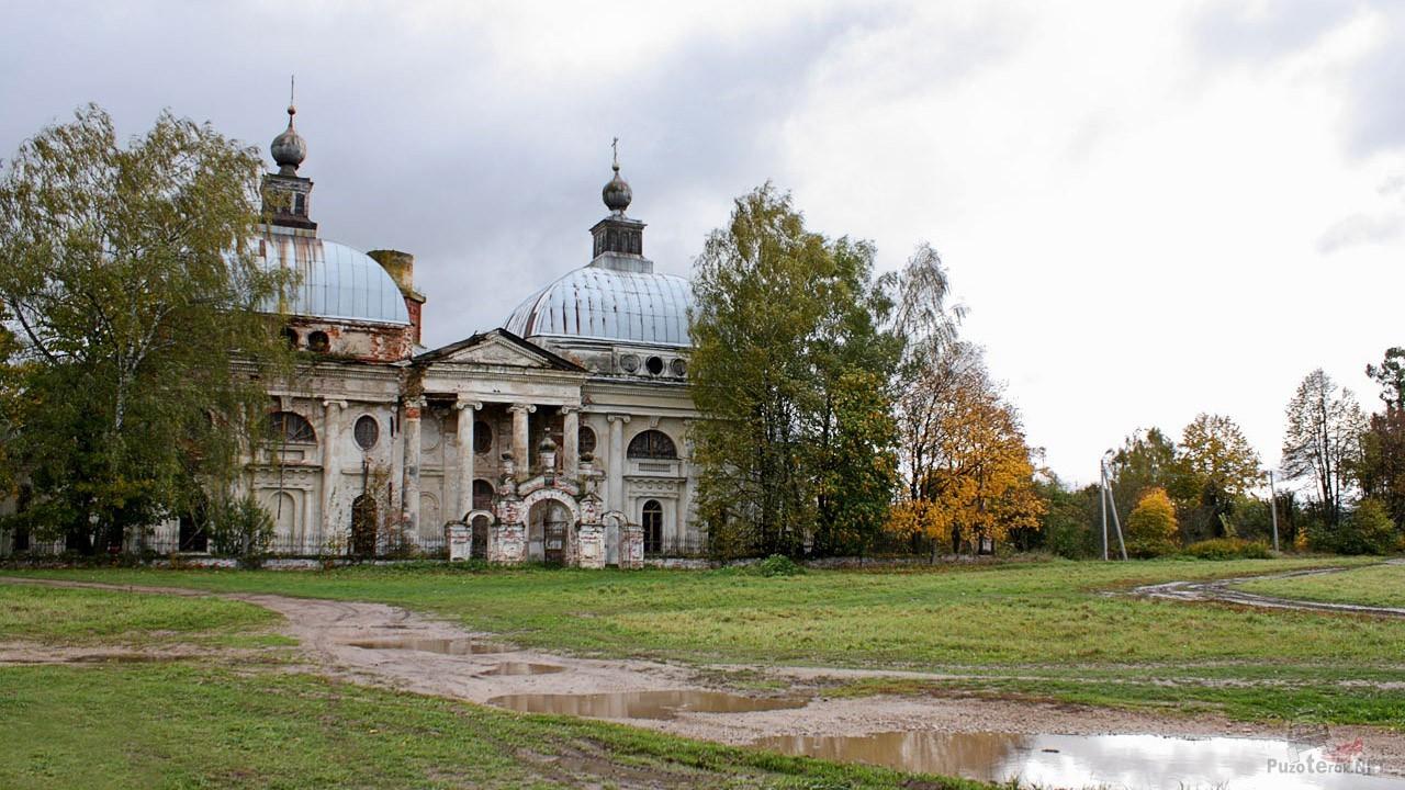 Осенний пейзаж в Яропольце